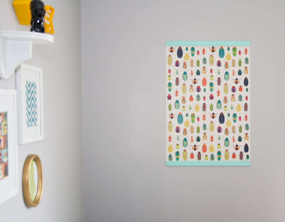 DIY Nursery Poster || from myonlysunshineblog #blog #nursery #diy #poster #papersource