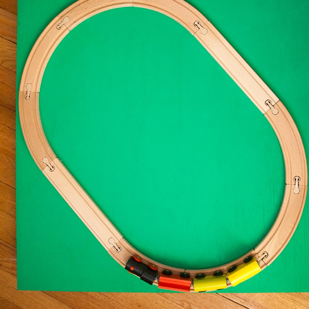 My Only Sunshine || DIY Rollaway Trainset