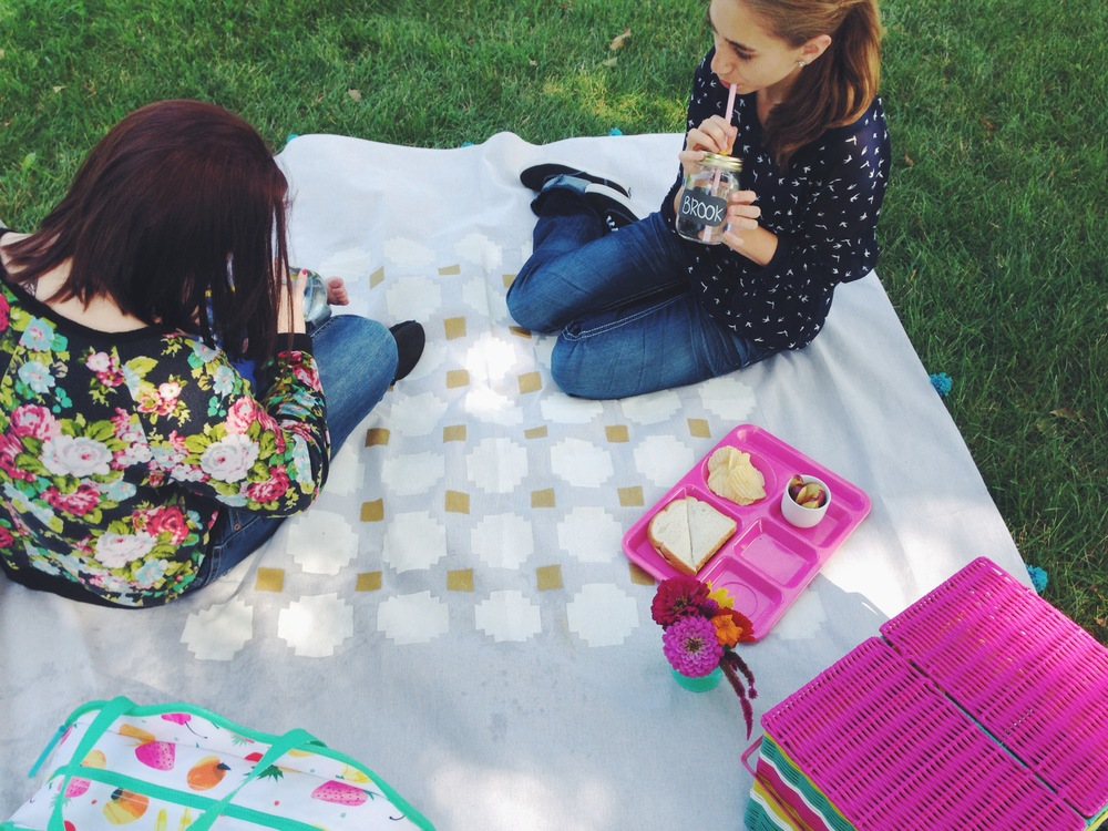 My Only Sunshine || DIY Picnic Blanket