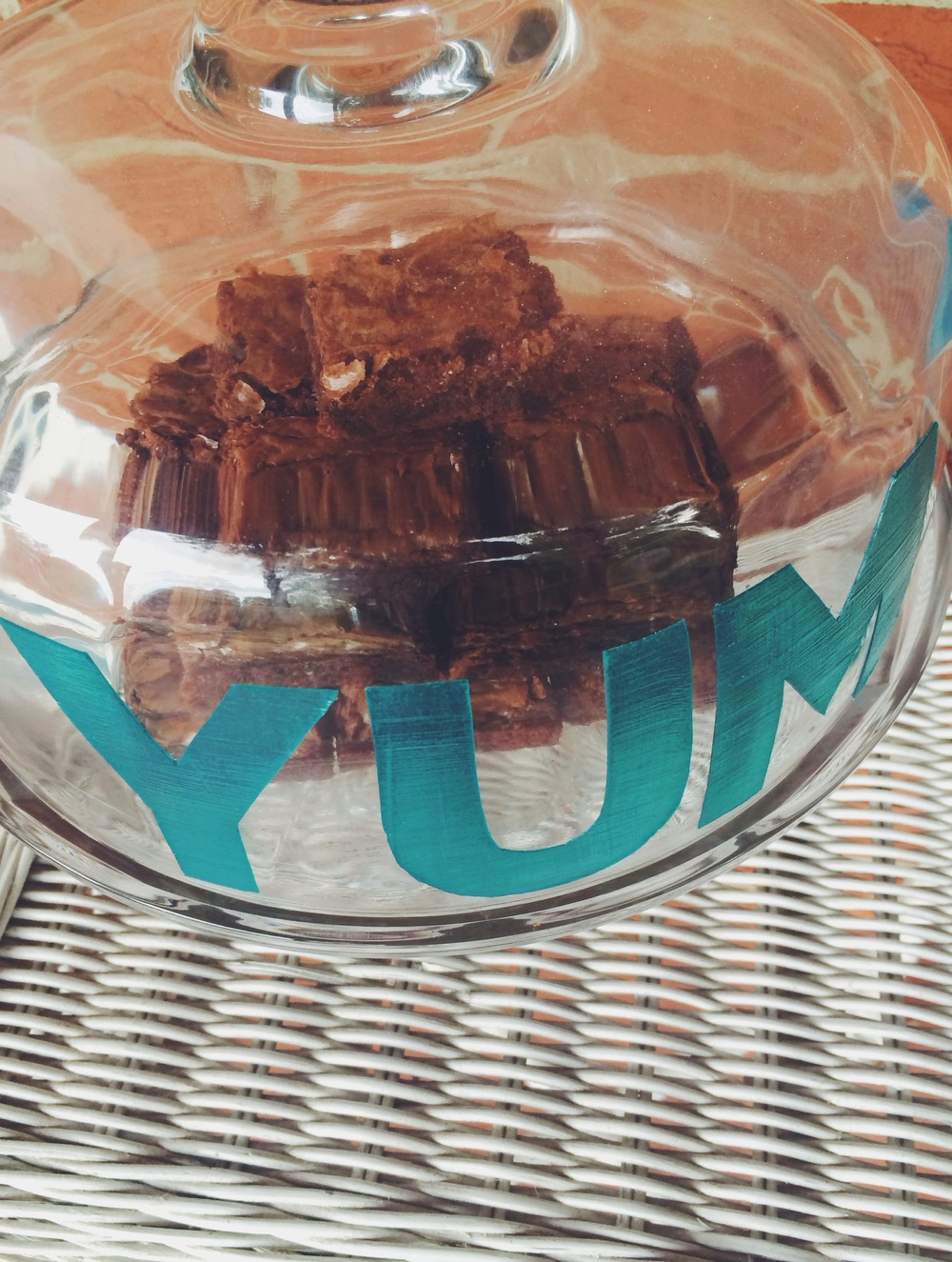 My Only Sunshine Blog || DIY Yum Cake Dome