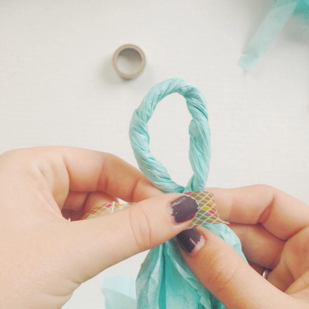 My Only Sunshine Blog || DIY Tissue Garland