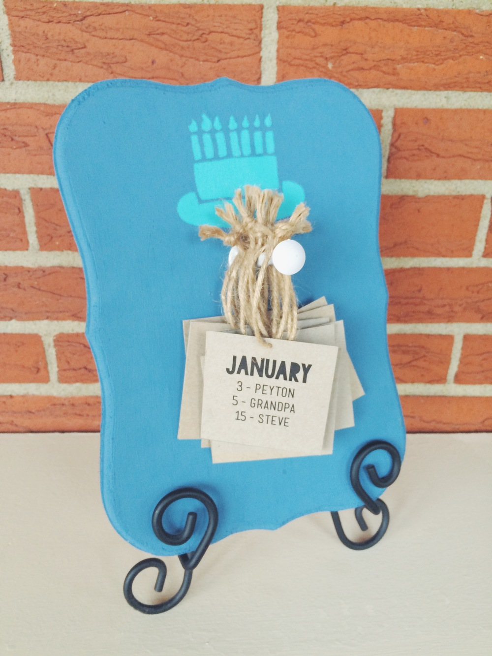 MyOnlySunshineBlog_BirthdayBoard_Diy