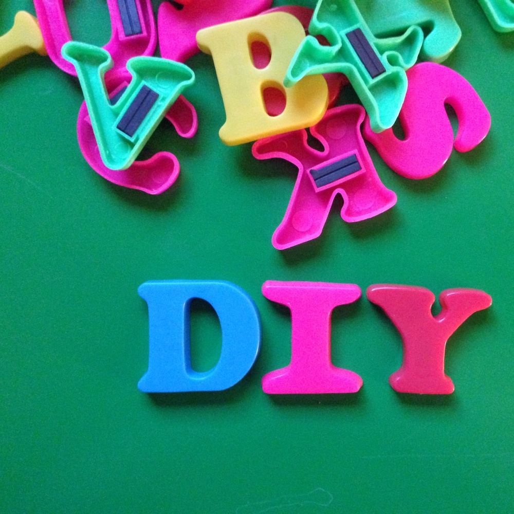 DIY Alphabet Makeover || Click through for the tutorial
