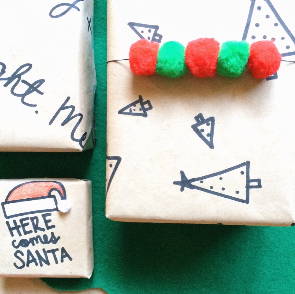 DIY Christmas Wrapping Inspiration