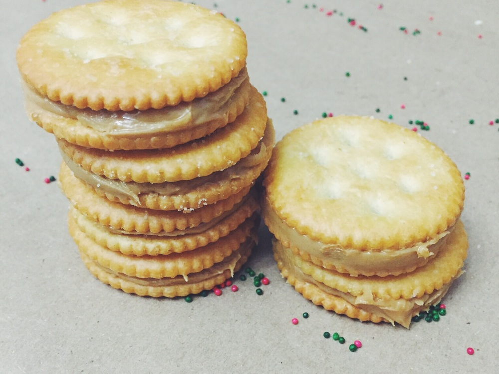 Christmas Cracker Treats. Click for recipe