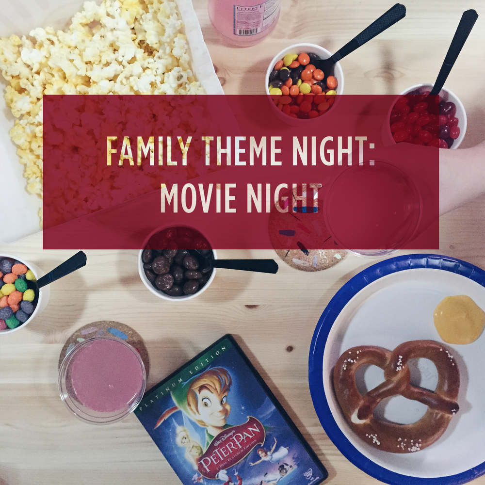 Family Theme Night: Movie Night // My Only Sunshine