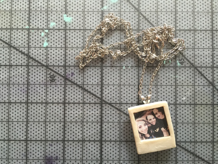 DIY Polaroid Necklace