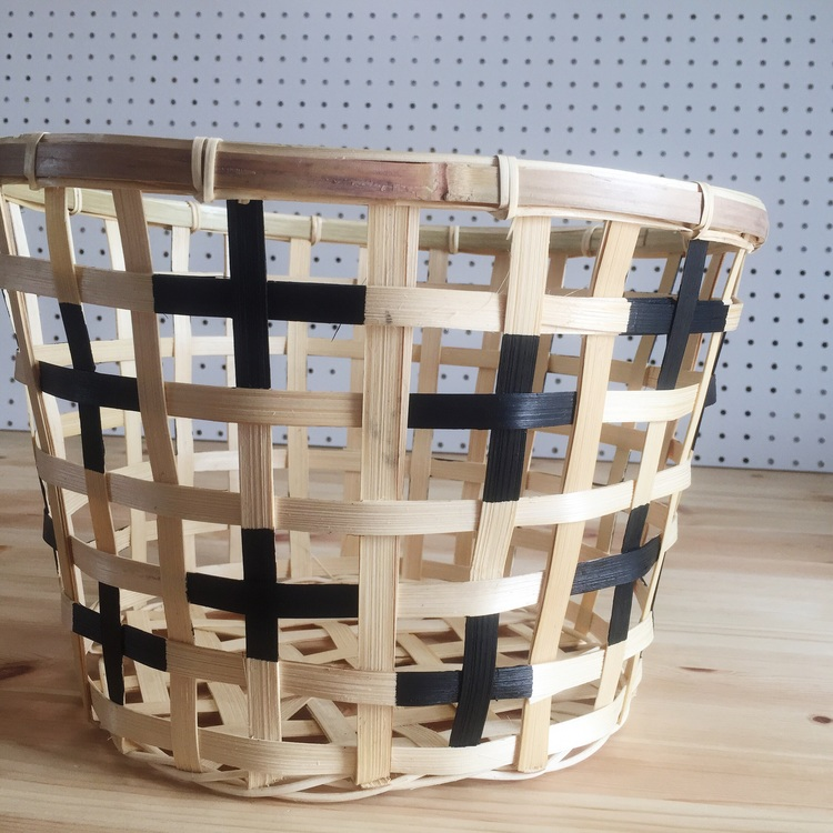 DIY Painted + Basket