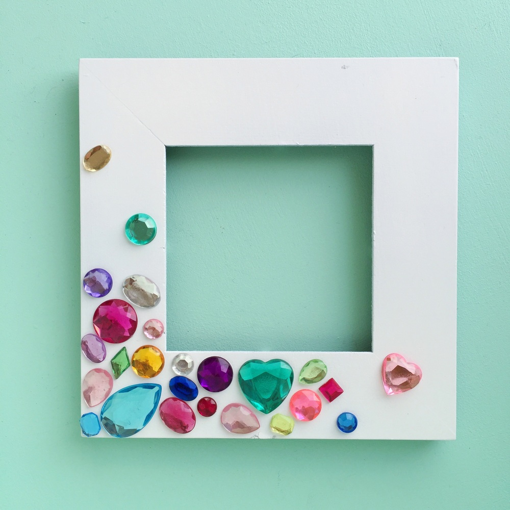 Simple DIY Gem Frame