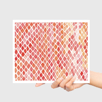 3. RECEIVE ART Your hand-selected print is shipped to your home on the 25th of every month.