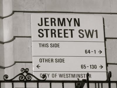 Jermyn Street, London.
