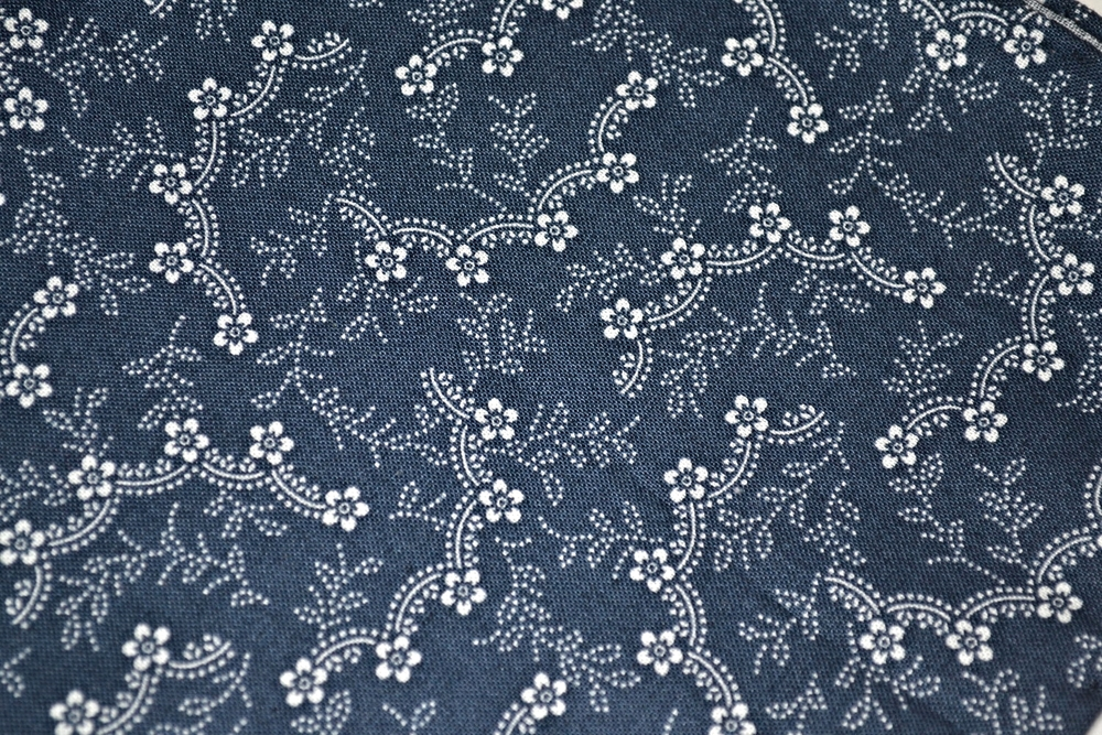 Close of Sakura fabric