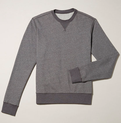 LL Bean's Signature Cotton Fleece Crew Sweatshirt