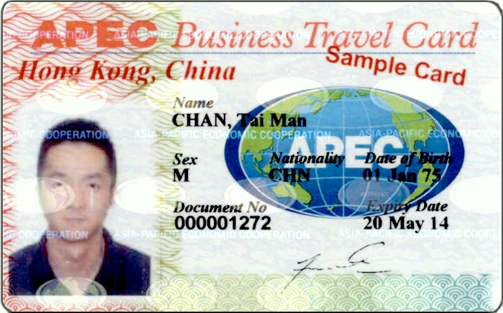 "It may look like a ""fake ID"" but the APEC travel card is a must have for international travelers to Asia"