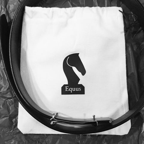 #equus Stratfield leather belt