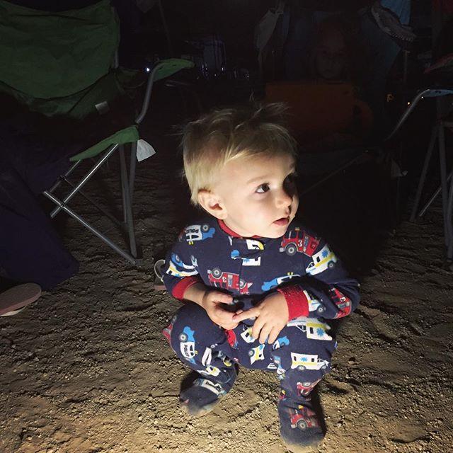 When daddy runs 100 miles - kiddos decide sleep isn't necessary.. #burningthemidnightoil