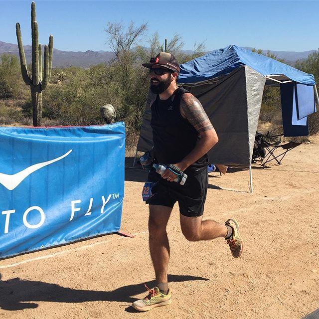 He did it!! 100 miles!!!! #javalinajundred