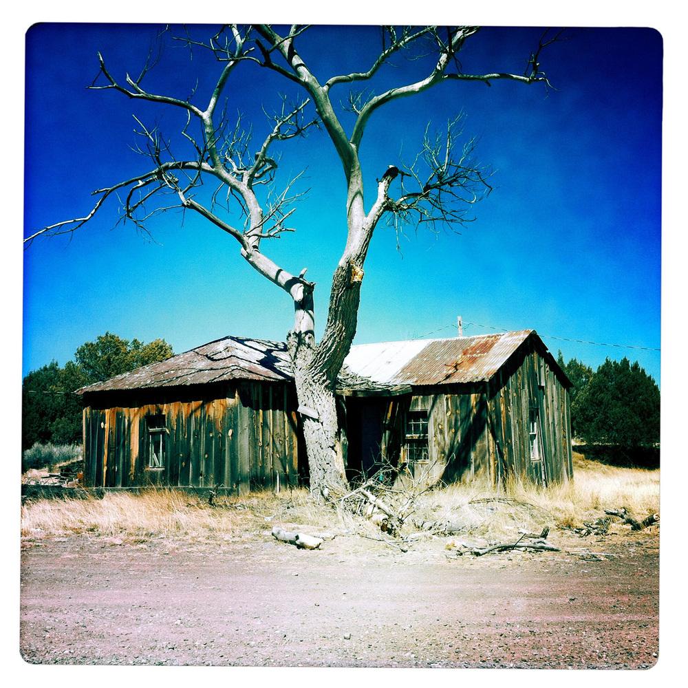 Deserted Home near Alpine AZ Arizona