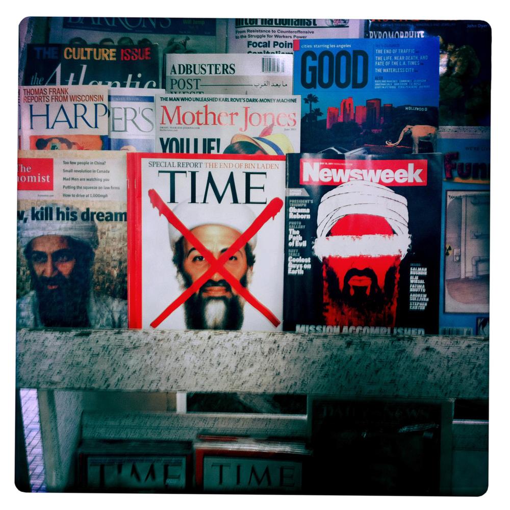 Good Fun Osama Display in Bisbee AZ Arizona
