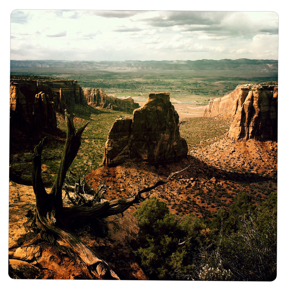 Dusk at the Colorado National Monument near Fruita CO Colorado