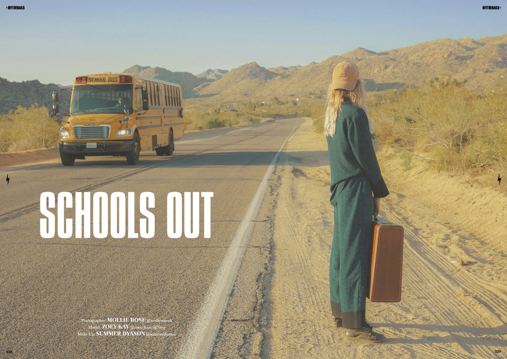 Schools Out for Off The Rails Magazine