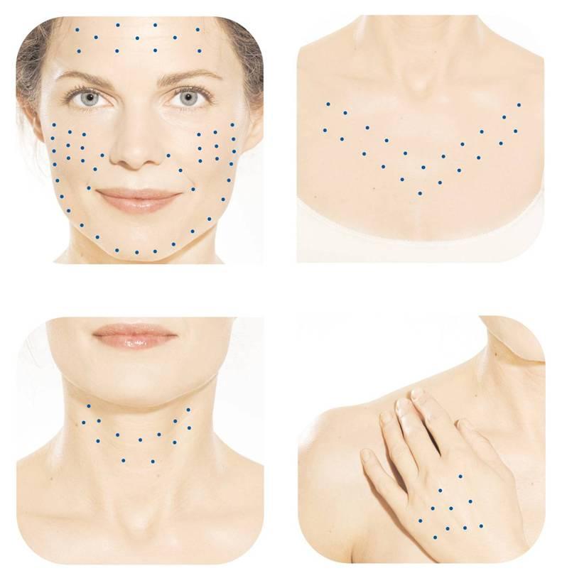 VOLITE kan anvendes på ansikt, hals, decolletage og hender.