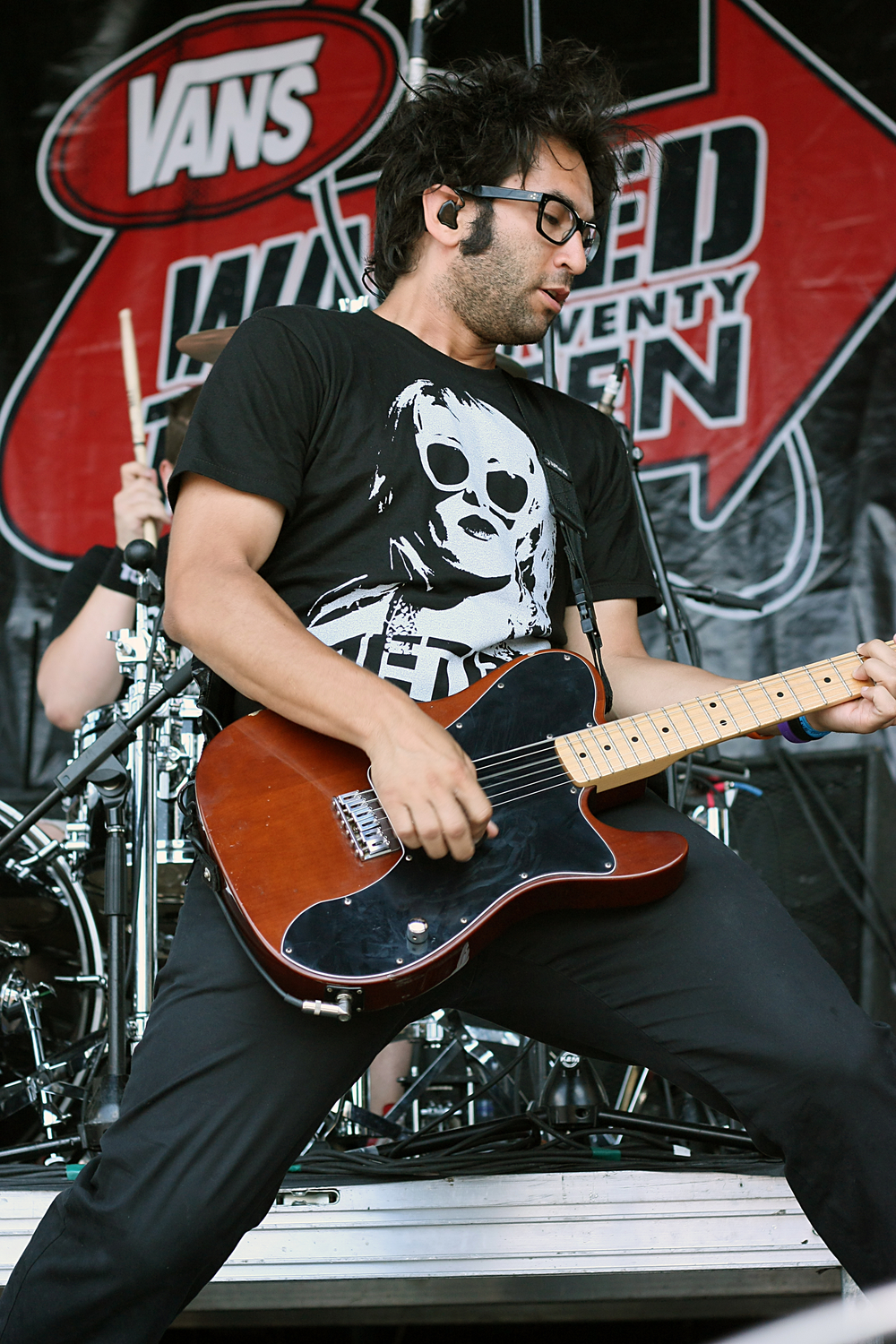 Justin Pierre, Motion City Soundtrack - Warped Tour