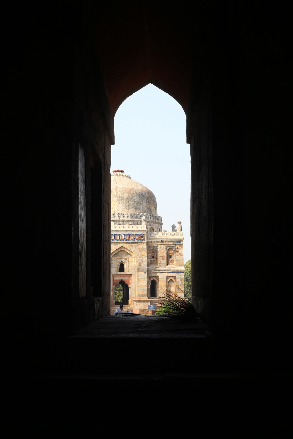 Looking out - Lodhi Gardens - New Delhi, India