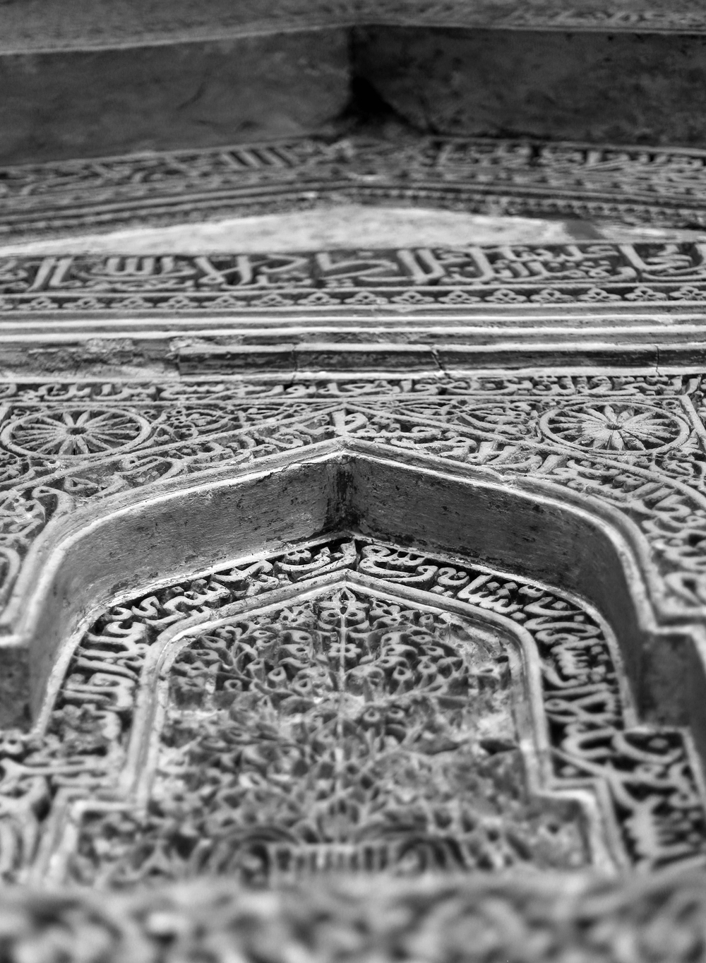 Carvings - Red Fort - New Delhi, India