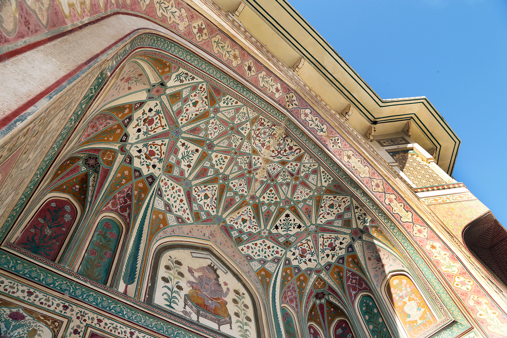 Entrance to the Amer Fort