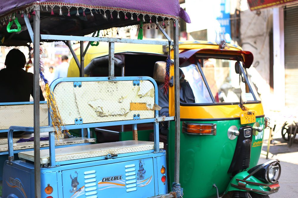 Tuk Tuks in Delhi