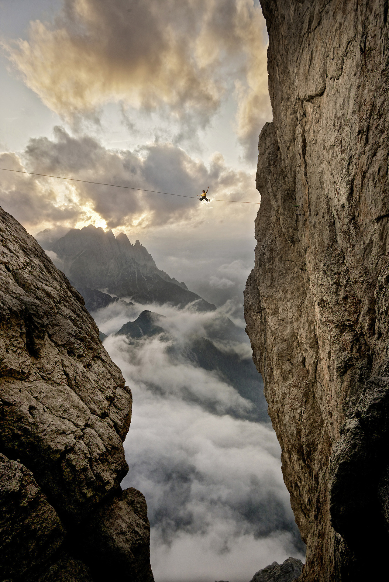 Category Finalist 2013: Playground; Photographer: Martin Lugger; Athlete: Florian Ebner; Location, Lienzer Dolomiten, Austria   Top 50 Finalsit in  Red Bull's Illume photo contest