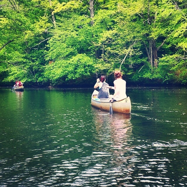 gagnon1: #tbt to Memorial Day #canoeing on the Ipswich River