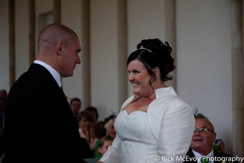 The Bride and Groom by Dorset Wedding Photographer Rick McEvoy