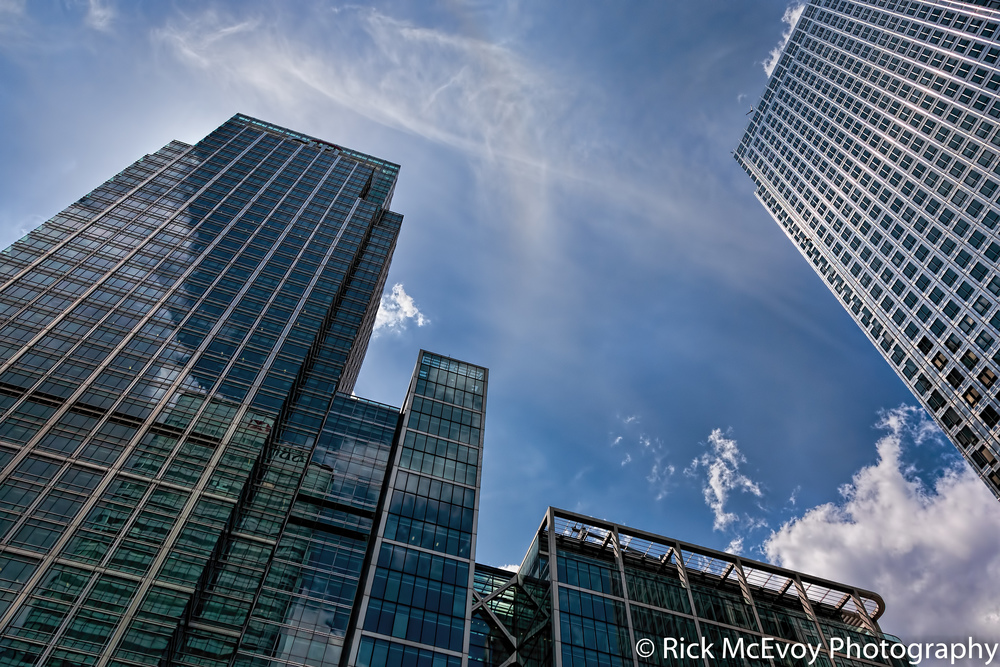 London Skyline by Rick McEvoy Architectural Photographers