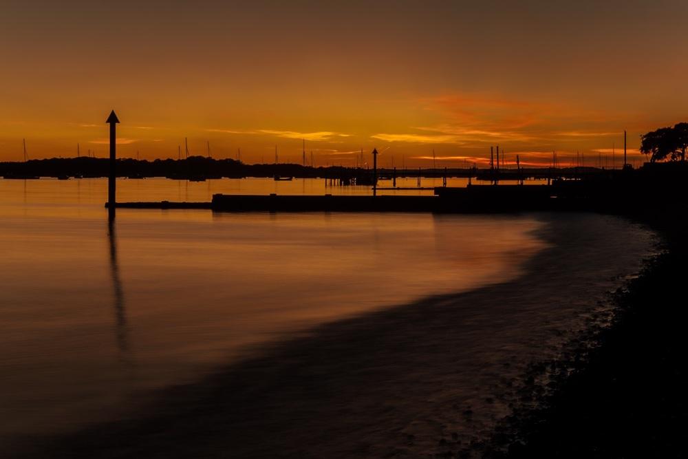 Sunset, Poole, Dorset