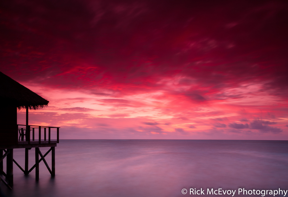Maldives - fantastic shot by fantastic photographer Rick McEvoy