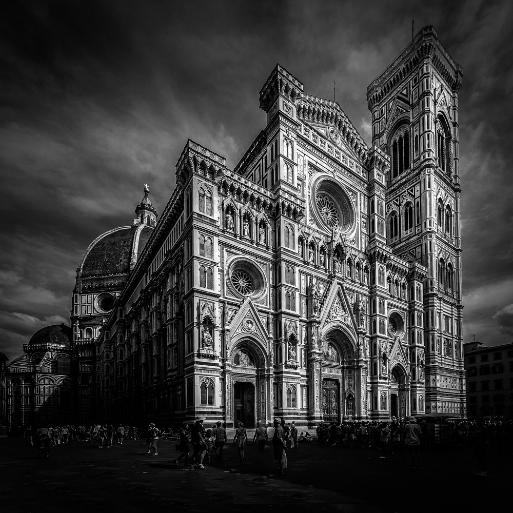 Duomo, Florence, Italy, by Rick McEvoy Architectural Photographer