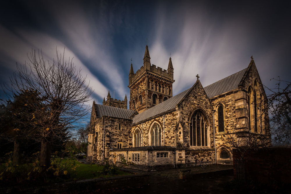 Wimborne Minster by Rick McEvoy Dorset Photographer