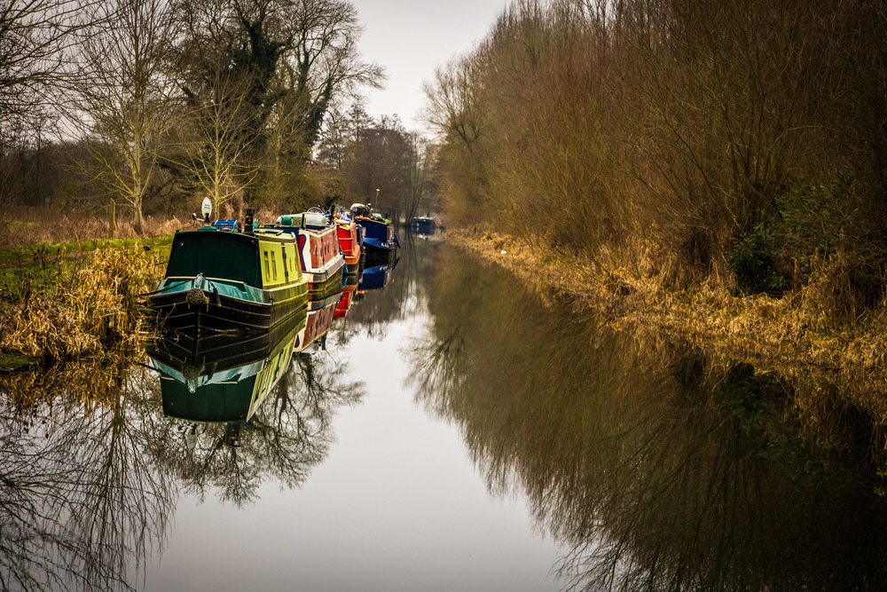 Canal near Oxford by Landacape Photographer Rick McEvoy