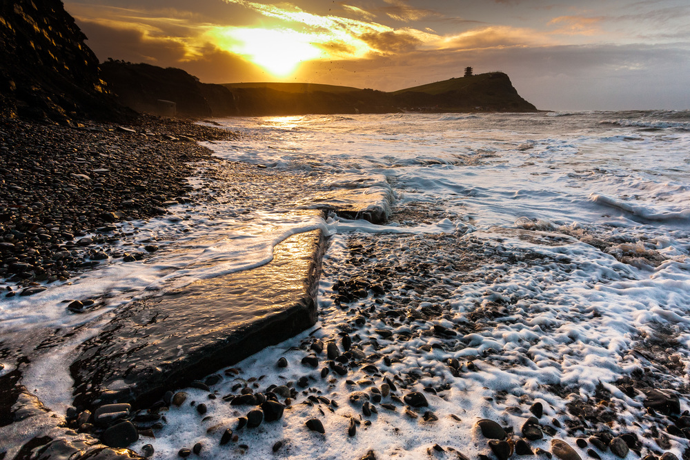 Kimmeridge Bay, Dorset, first edit