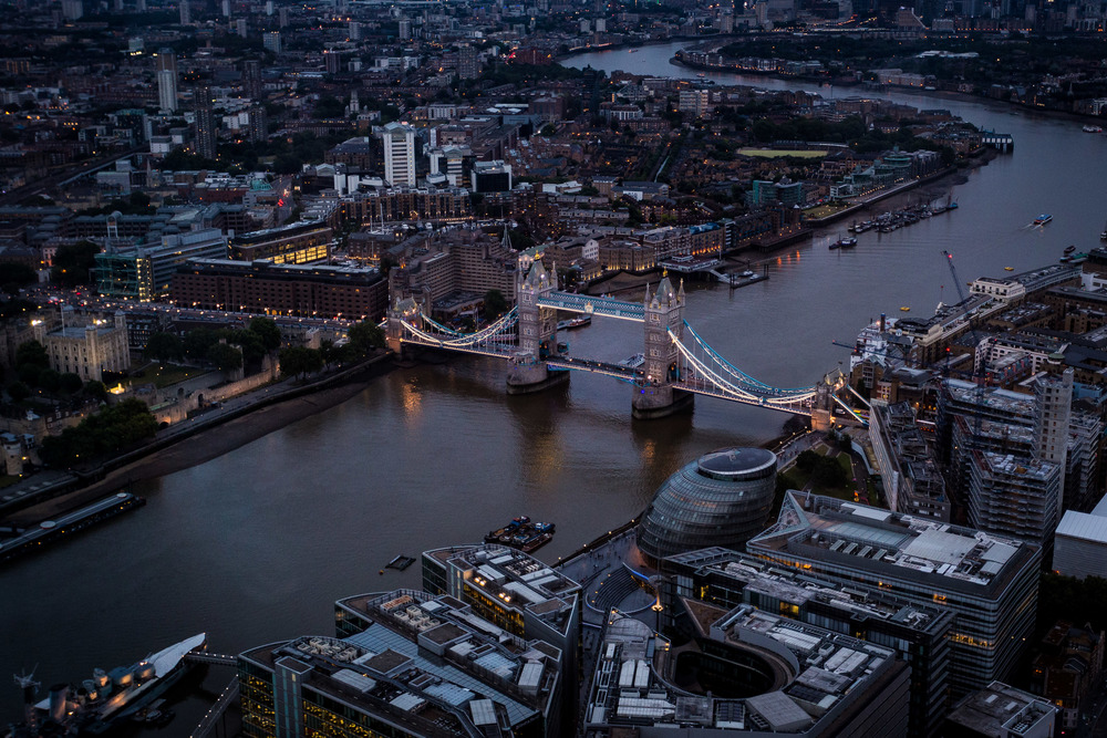 London Bridge Aerial Shot