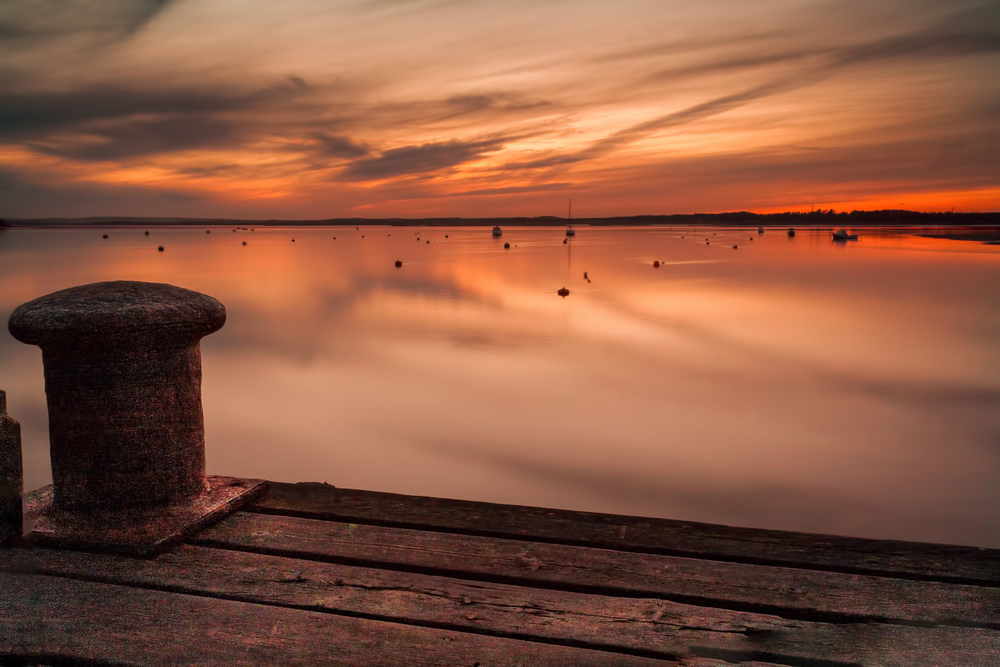 Sunset, Hamworthy, by Rick McEvoy Poole Photographer