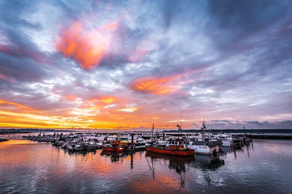 Poole Quay sunrise