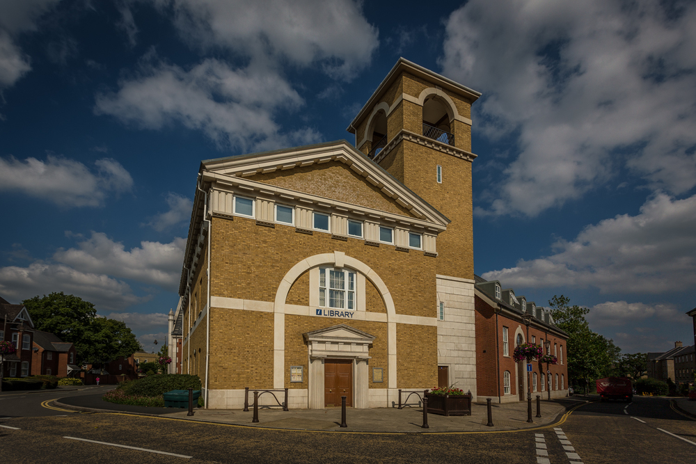 Public Library, Dickens Heath, by Rick McEvoy Photography