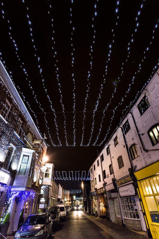 Christmas Lights, Poole High Street, Dorset
