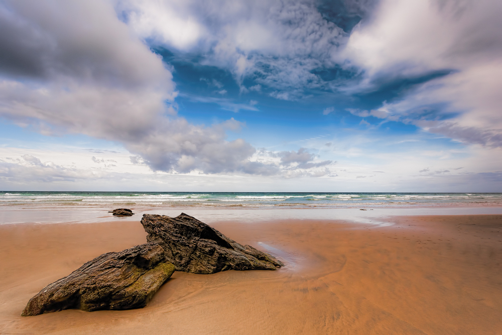 Watergate Bay Beach by Rick McEvoy, Cornwall Photographer