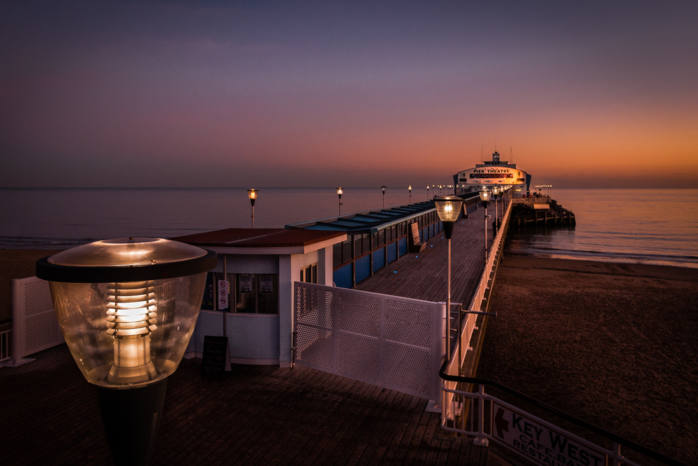 Pier by Bournemouth Photographer Rick McEvoy