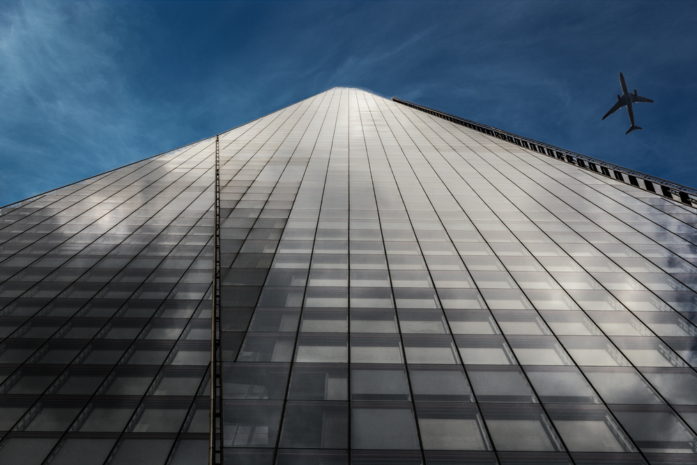 The Shard, London, by construction photographer Rick McEvoy