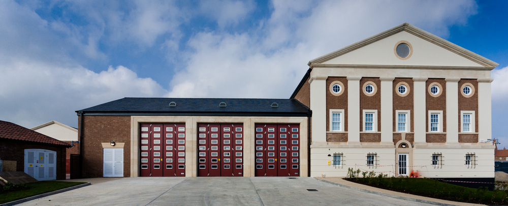 Rick McEvoy Photography Portfolio 2014 Image 2 - Dorchester FIre Station